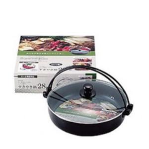 Panela para Sukiyaki com Tampa 28cm-PEARL LIFE-PL-H-8036
