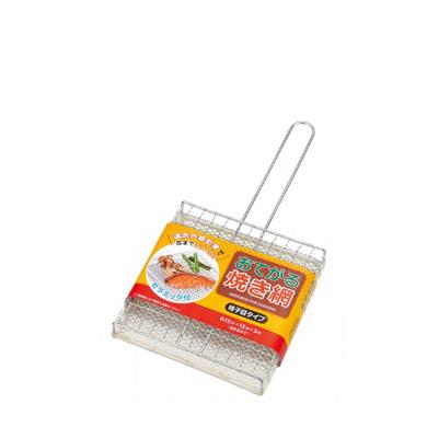 Mini Grelha De Aço Inox 15 x 15cm-0306-511E-ECHO