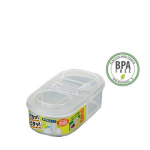 Pote Plástico c/ Tampa Dobrável Mod. L6 600ml K-197 NAKAYA