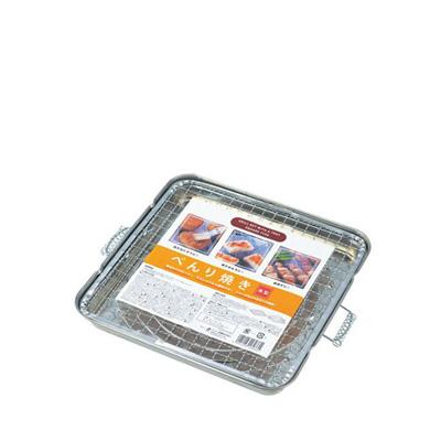 Grelha de Aço Inox Tam. 23 x 23cm-0357-521E-ECHO