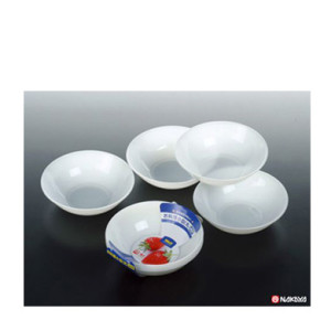 Mini Prato De Plástico com 4 Unidades. K-232-2 NAKAYA