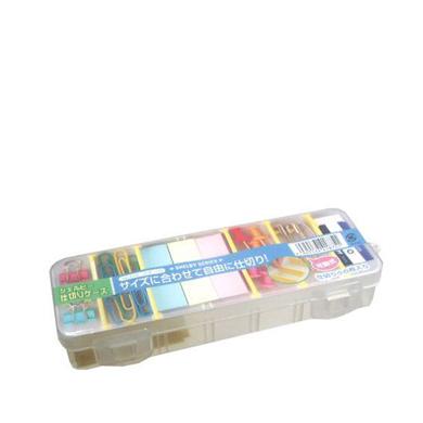 Porta Objeto De Plastico c/ 7  Divisórias  18.8 X 6.9 X 3.0cm YA-418 YAMADA
