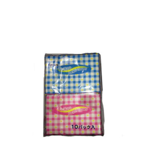 Lenço de Papel com 10un 21.0 x 20cm-KYOWA-4969757100288