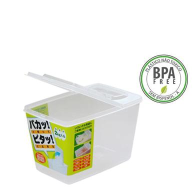 Pote Plástico c/ Tampa Dobrável Mod. L6 3L K-196  NAKAYA