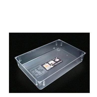 Porta Objeto Plástico Box 1 24.6 X 16.5 X 4.6hcm S-0032